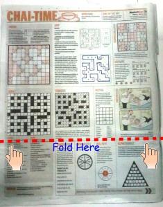 Fold here